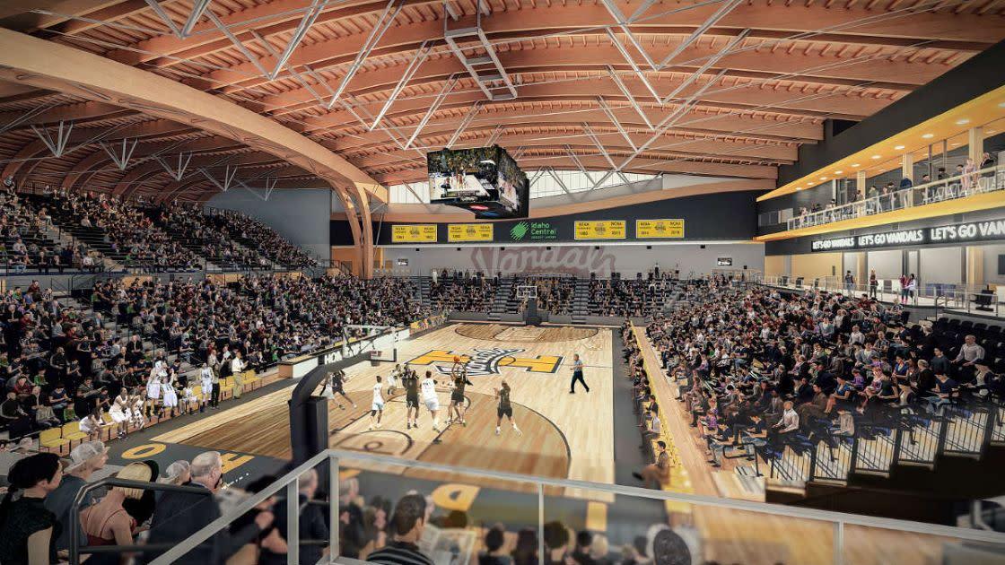 ICCU Arena from North Concourse