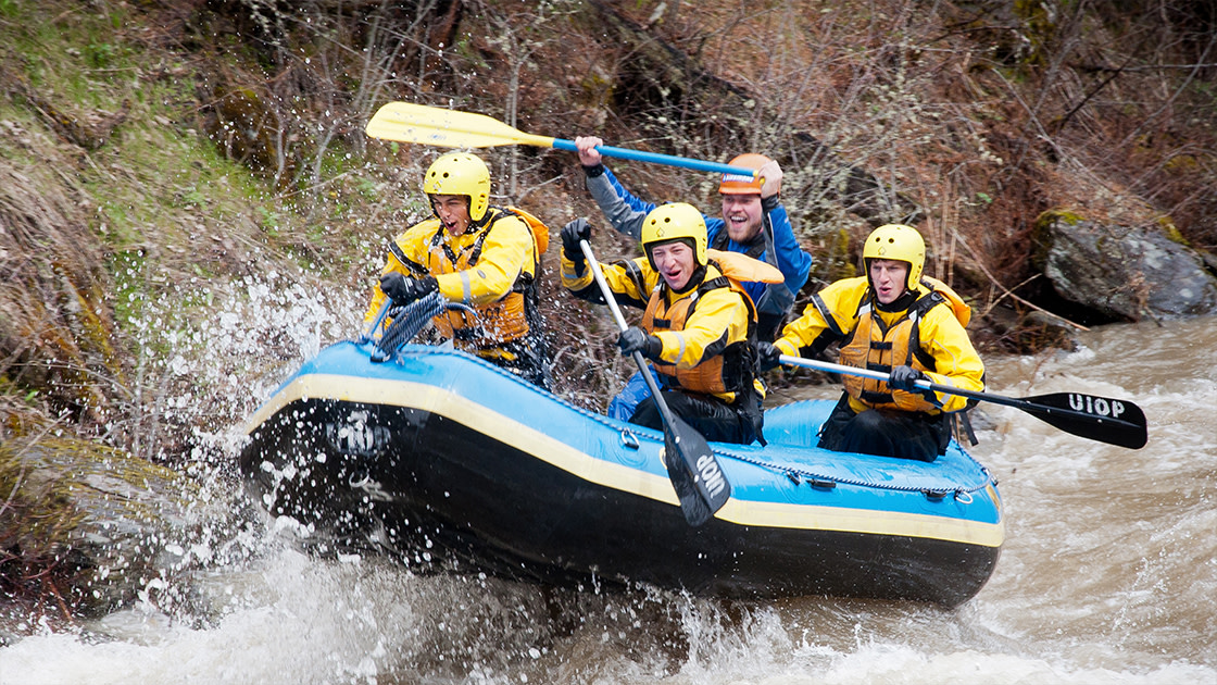 Outdoor Program - Potlatch River Raft