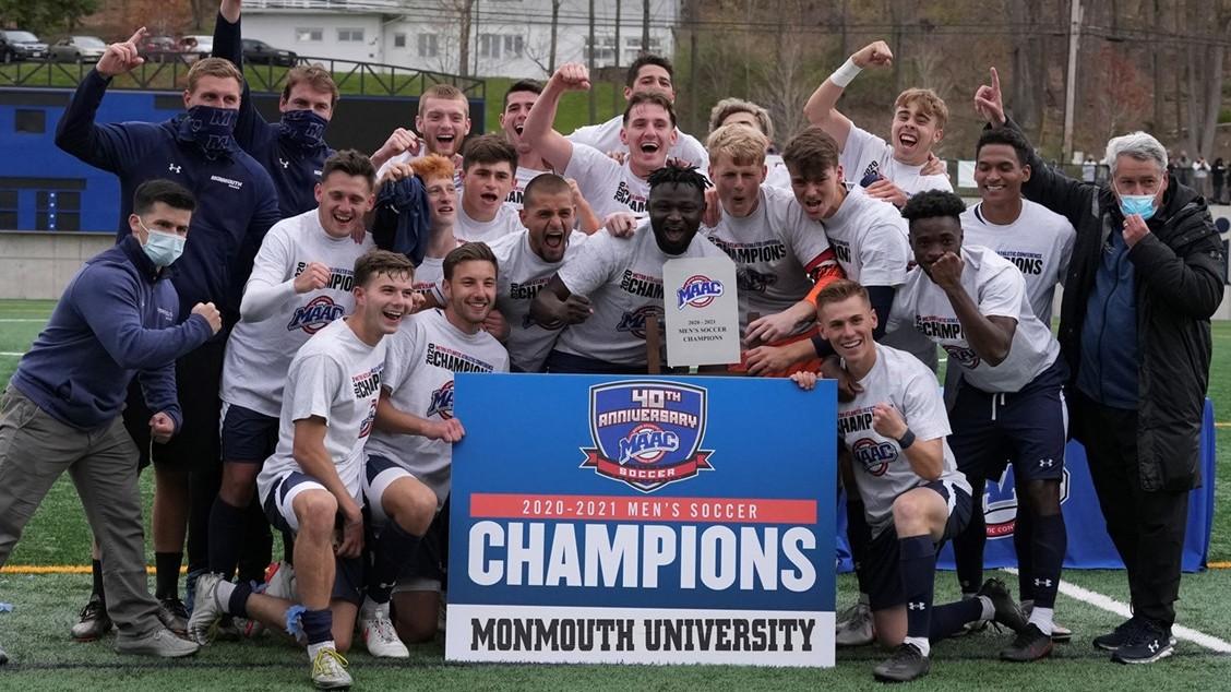 Men's Soccer Won the 2020-21 MAAC Championship!