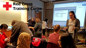 Red Cross Training (Community Health Corps)