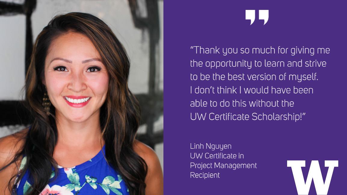 Linh Nguyen: UW Certificate in Project Management