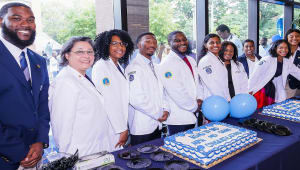 Blue and White Coat Ceremony and Pinning