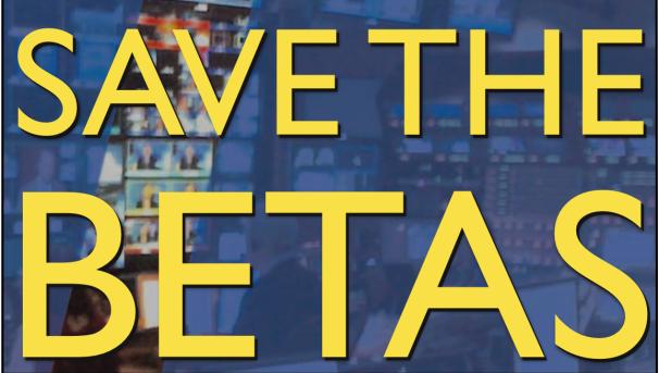Save the Betas Image