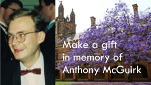 In loving memory of Anthony McGuirk