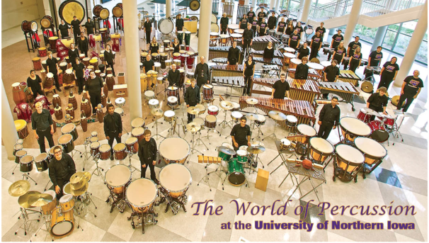 UNI Percussive Arts Society Image