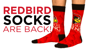 Rock your Redbird Socks 2018