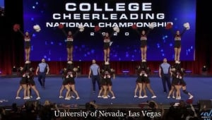 Help UNLV Cheer Defend Their National Championship!
