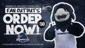 Monmouth Hawks Fan Cutouts