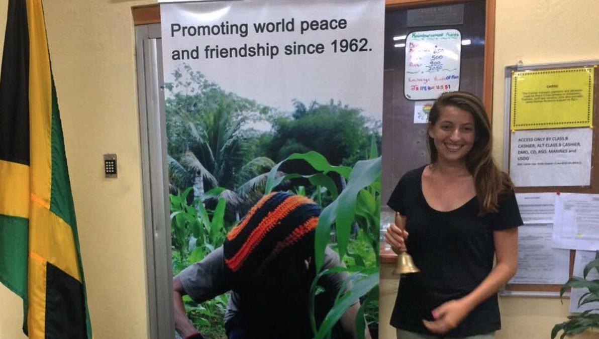 Returned Peace Corps Volunteer Kelsey Teske