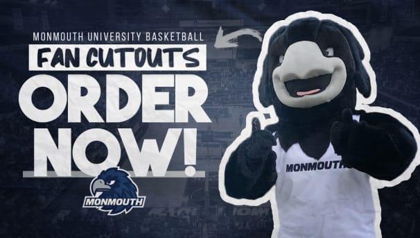 Monmouth Hawks Fan Cutouts Image