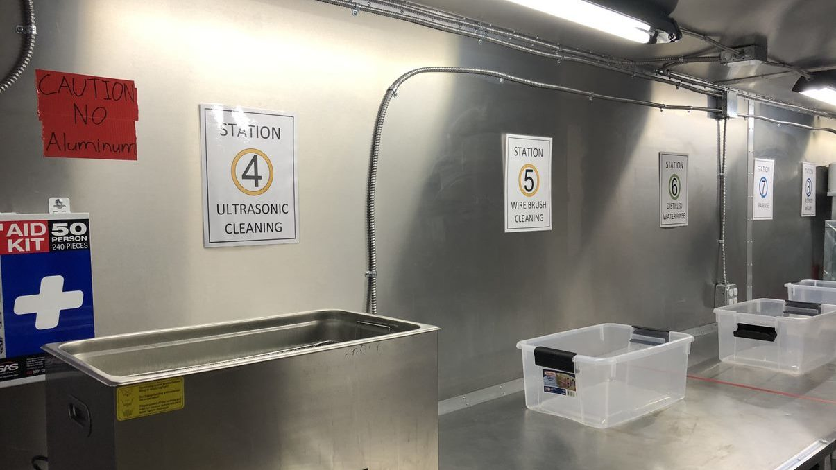 MOCAT Cleaning Stations