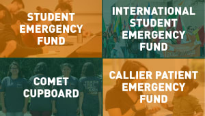 UT Dallas Emergency Support Efforts