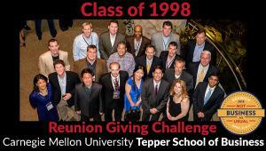 Tepper School Class of 1998 Reunion Challenge