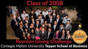 Tepper School Class of 2008 Reunion Challenge