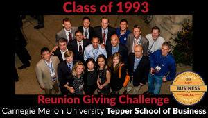 Tepper School Class of 1993 Reunion Challenge