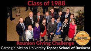 Tepper School Class of 1988 Reunion Challenge