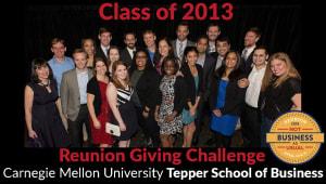 Tepper School Class of 2013 Reunion Challenge