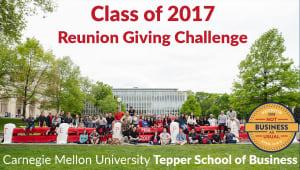 Tepper School Class of 2017 Reunion Challenge