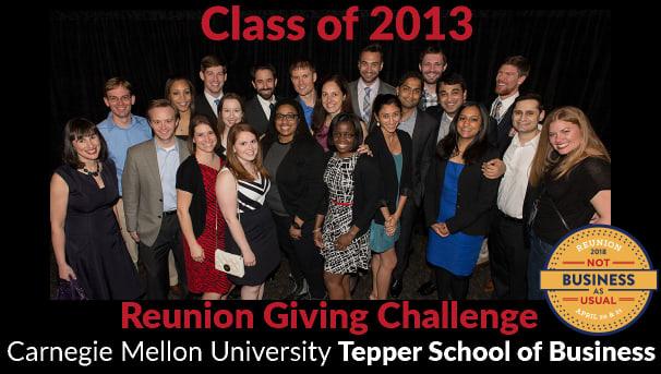 Tepper Reunions | Tepper School Class of 2013 Reunion Challenge