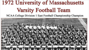 UMass Football '72 Boardwalk Bowl Champions