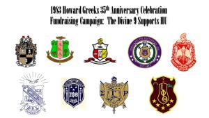 Black Greek Letter Organizations 1983 Pledge Lines