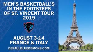 Men's Basketball - In the Footsteps of St. Vincent