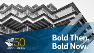 UC San Diego Geisel Library 50th Anniversary