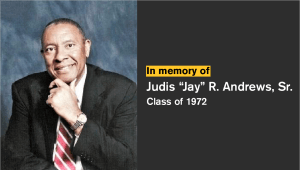 Jay Andrews Memorial Scholarship