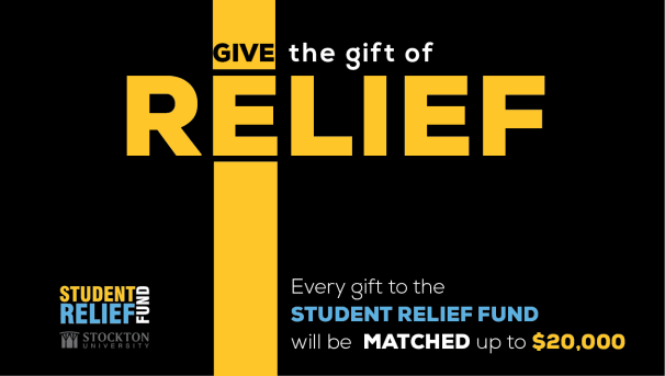 Student Relief Fund $20,000 December Match Image