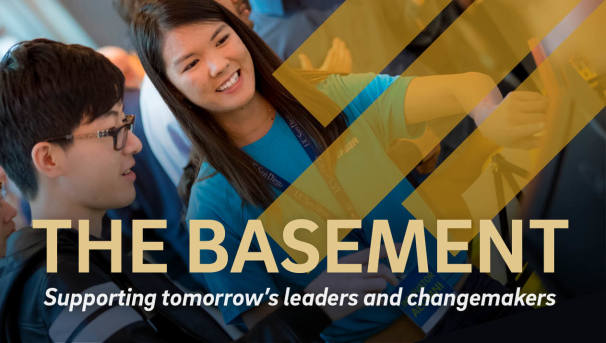 The Basement: Support our Students - The Leaders of Tomorrow Image