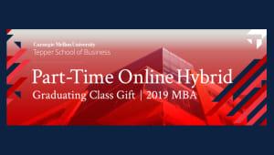 PTOH MBA Graduating Class Gift
