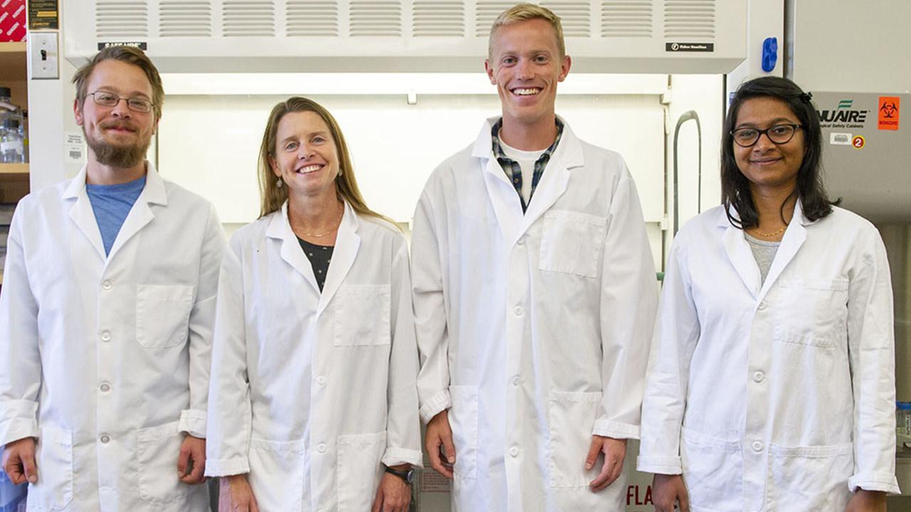 Dr. Michelle Flenniken and PhD students