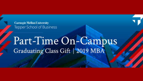 Part-Time On Campus MBA Graduating Class Gift
