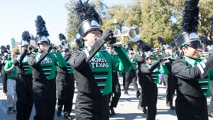 UNT Green Brigade Marching Band