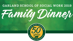 Social Work Family Dinner April 2019