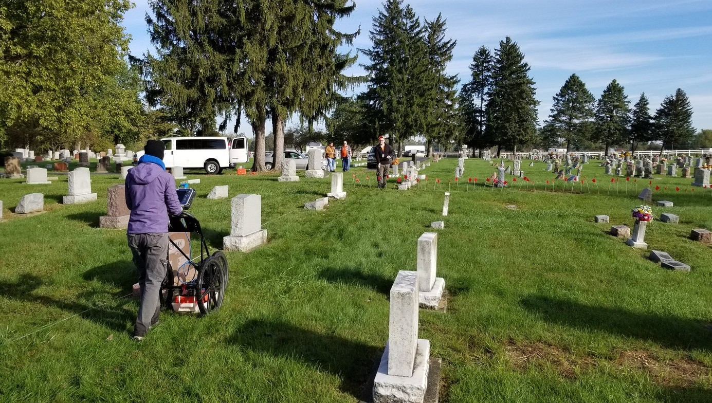GPR at Cemetery