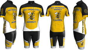 Officially Licensed WVSU Custom Cycling Apparel