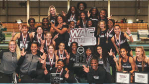 Indoor Track & Field: Your WAC Champions