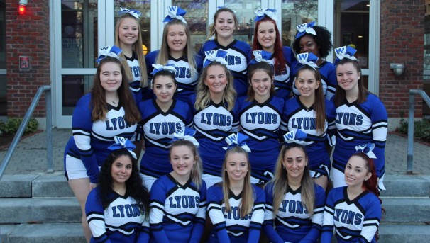 Wheaton Cheerleading Team Image