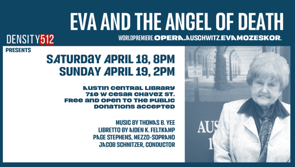 Support Eva and the Angel of Death: A Holocaust Remembrance Opera Image