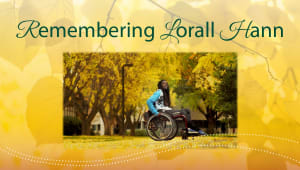 Lorall Hann: Honoring his legacy