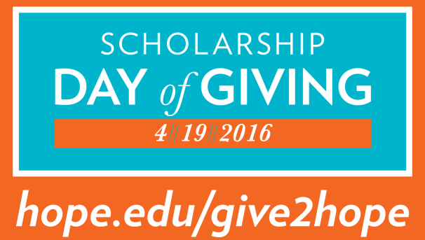 Scholarship Day of Giving 2016 Image