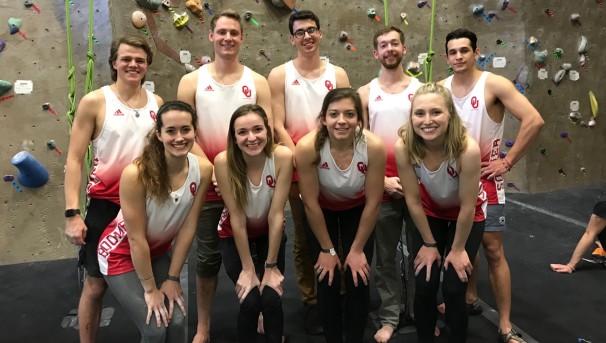 OU Climbing Team 2019 Image