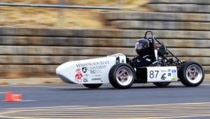 "Wazzu ""Racing"" Their Way to Formula SAE"