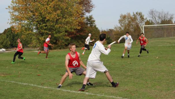 OU Men's Ultimate Frisbee Team Image