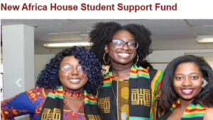 New Africa House Student Support Fund