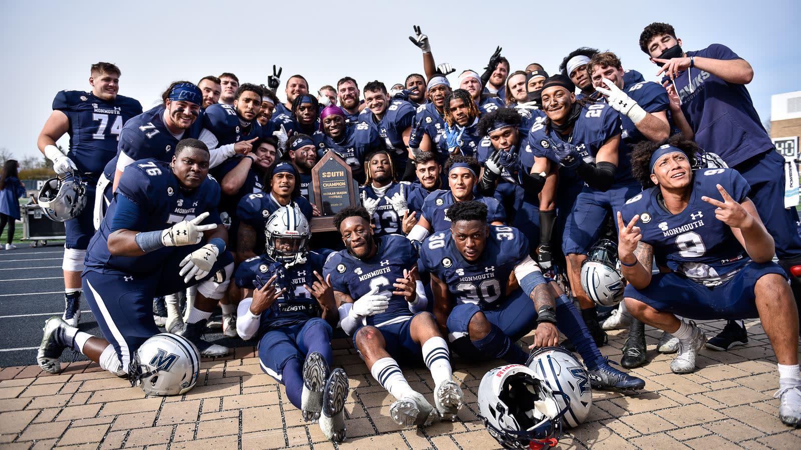 Football Has Won Two Straight Big South Championships!