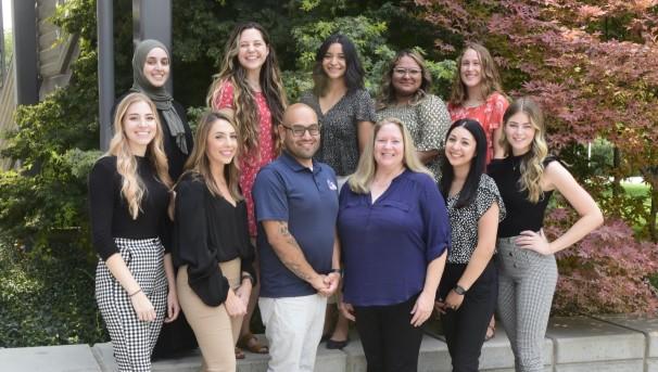 Photos of current CSUF Dietetic Interns