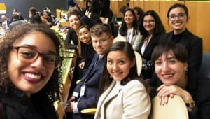 Model United Nations: Crossing New Borders