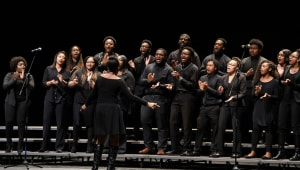 The University of Mississippi Gospel Choir Annual Fall Concert